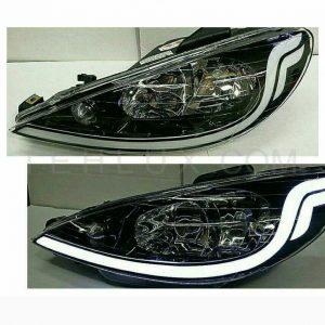 کاسه چراغ جلو پژو 206 مدل S