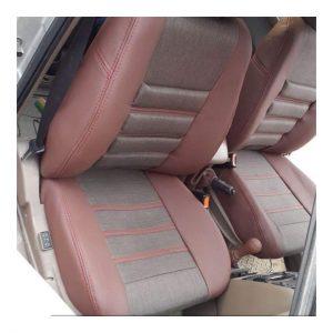 روکش صندلی چرم و پارچه پژو پارس و 405