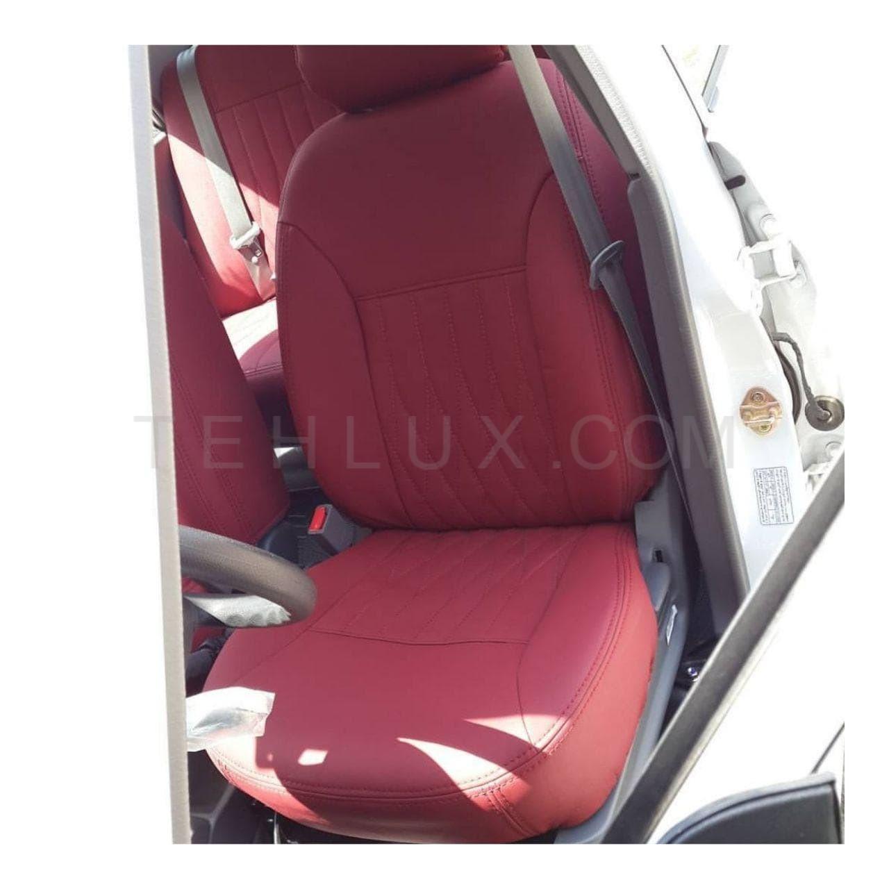 روکش صندلی قرمز پژو 206
