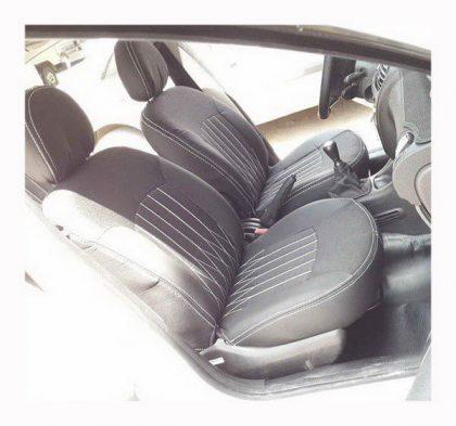 روکش صندلی 206 چرم مشکی