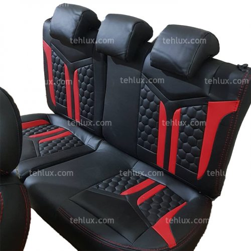 روکش صندلی قرمز مشکی
