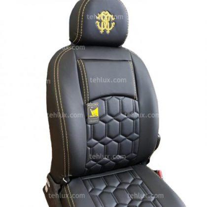 روکش صندلی 206 زرد