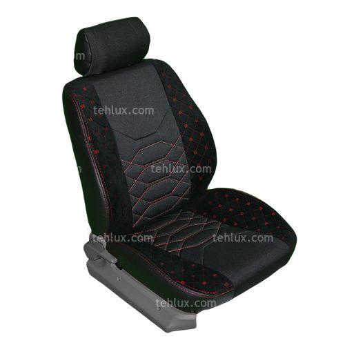 روکش صندلی چرم و پارچه پژو پارس و 405 SLX و GLX