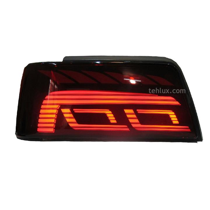 چراغ عقب 405 طرح گلف تمام قرمز