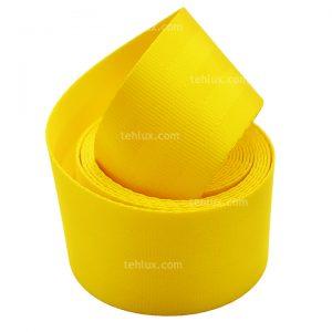کمربند رنگی زرد خودرو
