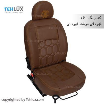 روکش صندلی قهوه ای 405 پارس