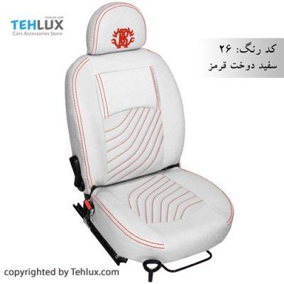 روکش صندلی چرم پژو پارس و پژو 405