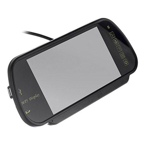 دوربین دنده عقب و آینه مانیتور هفت اینچ دید در شب ضبط تصاویر جلو