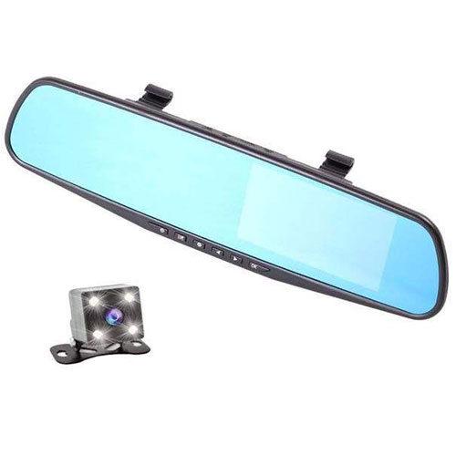 دوربین دنده عقب و آینه مانیتور دید در شب ضبط تصاویر جلو