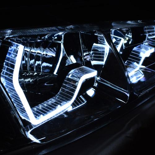 کاسه چراغ اسپرت سه بعدی پژو پارس