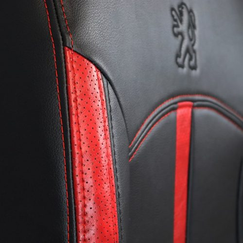 روکش صندلی چرم مناسب پژو 206 کد A101